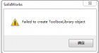 "SolidWorks启动toolbox时失败出现""Failed to create ToolboxLibrary object""的解决 ..."